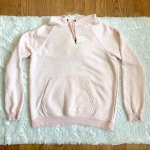 Nike Pale Pink Pullover Hooded Sweatshirt